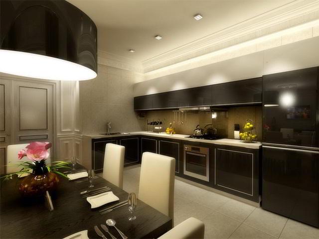 Коричневые кухни5