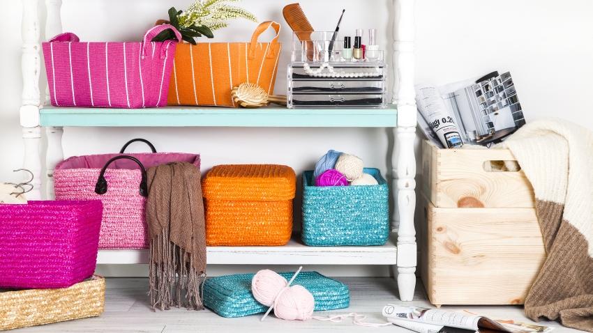 Коробки для хранения вещей: избавляемся от хаоса в доме1