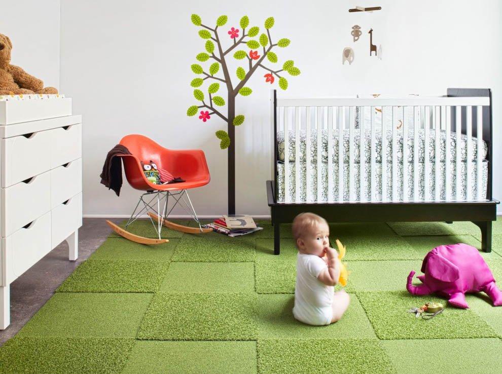 Ковролин в детскую комнату: на что обратить внимание при выборе?1