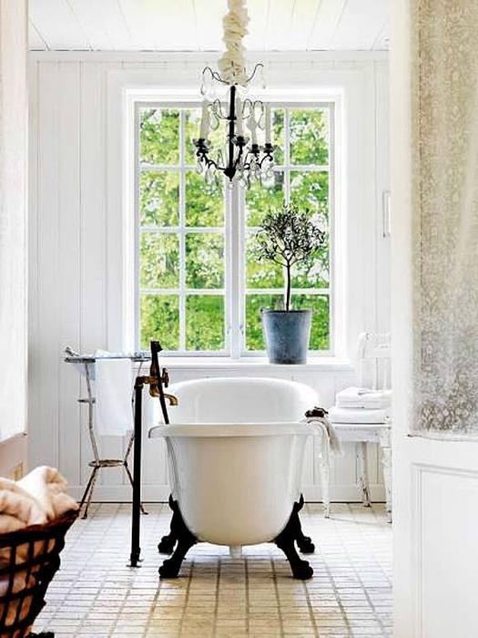 Красивая и элегантная ванна на ножках1