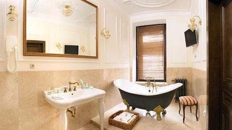 Красивая и элегантная ванна на ножках2