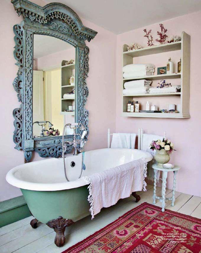 Красивая и элегантная ванна на ножках3
