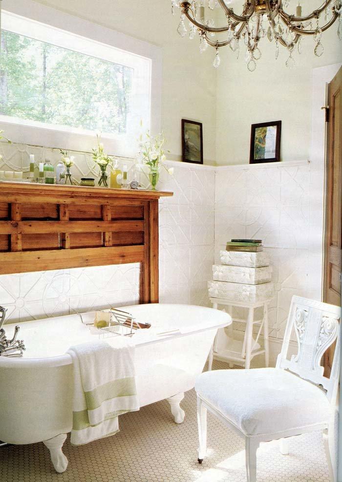 Красивая и элегантная ванна на ножках7