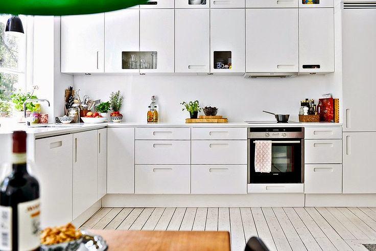Красивые скандинавские кухни0
