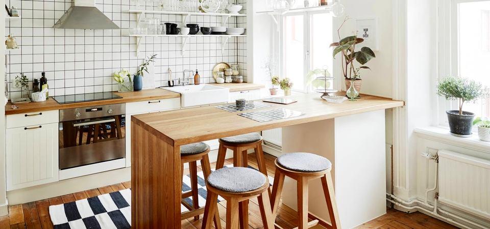 Красивые скандинавские кухни1