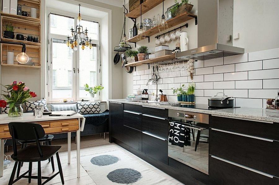 Красивые скандинавские кухни3