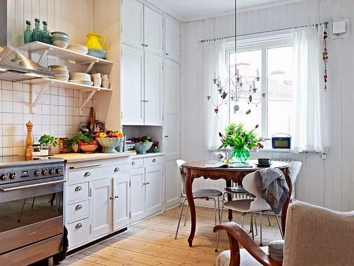 Красивые скандинавские кухни5