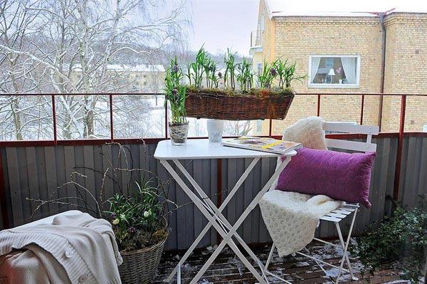 Красивый балкон — место для отдыха в современных квартирах5