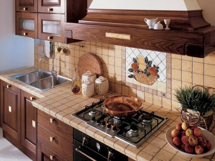 Красивый и практичный фартук на кухню3