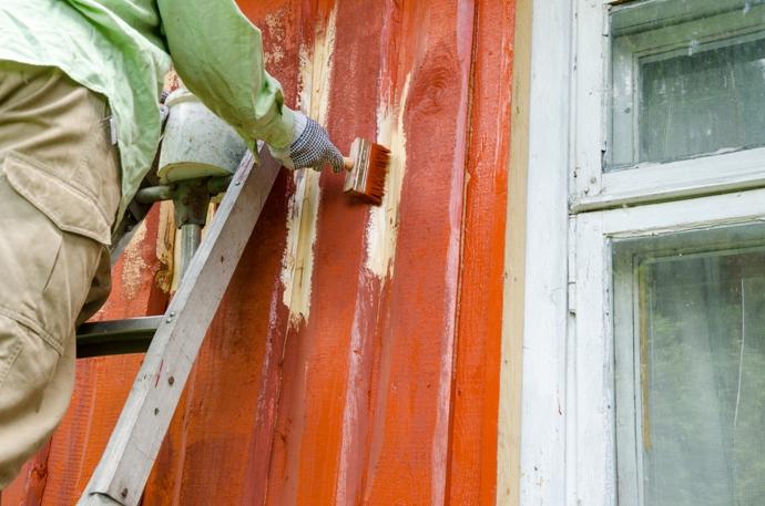 Краска для наружных работ по дереву: какая лучше0
