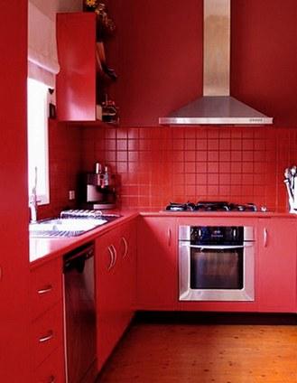 Красные кухни4