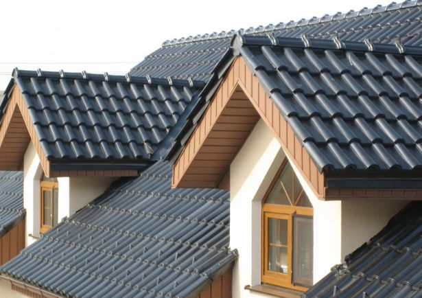 Крыша из металлочерепицы4