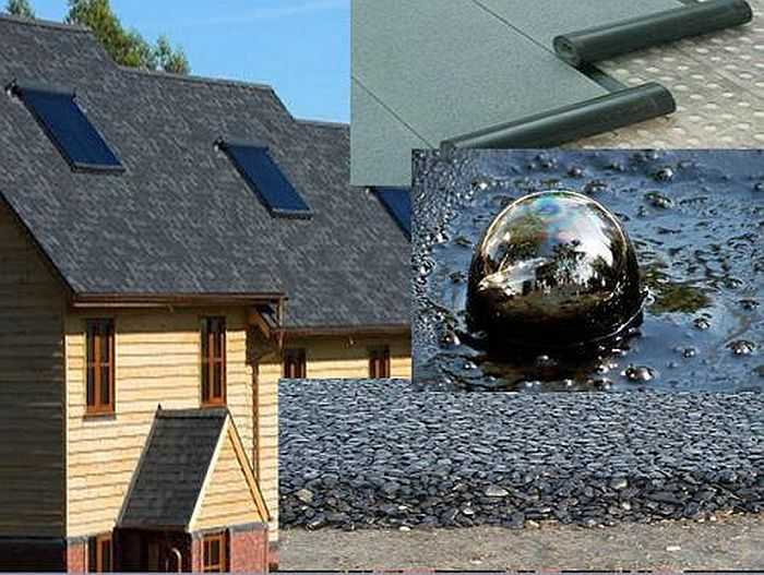 Крыша из наплавляемых материалов0