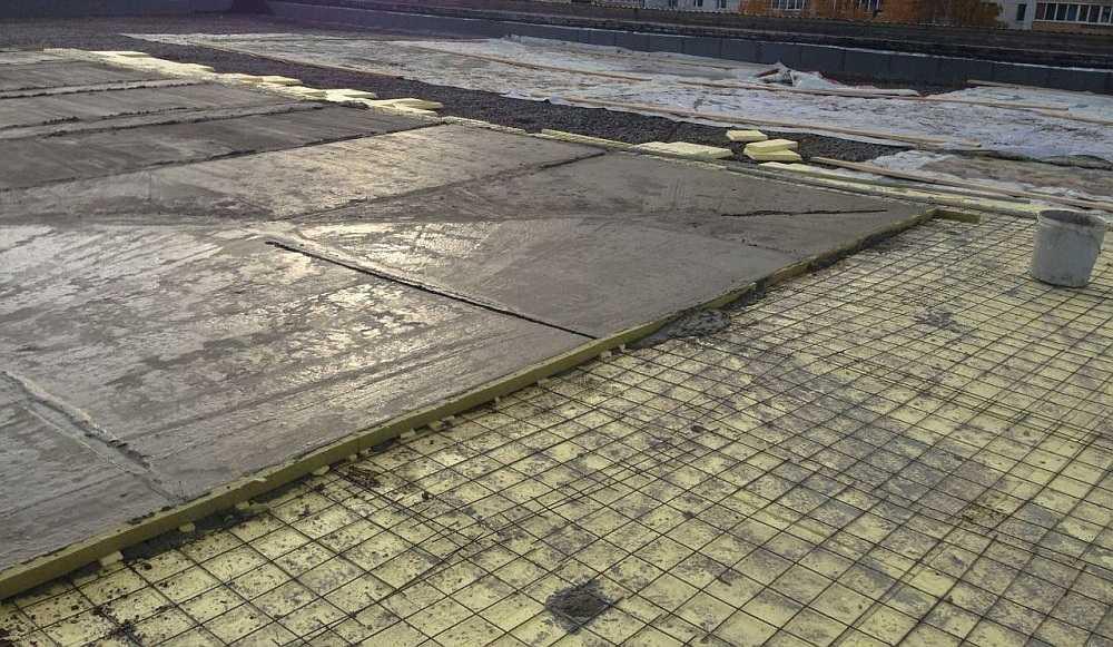 Крыша из наплавляемых материалов1