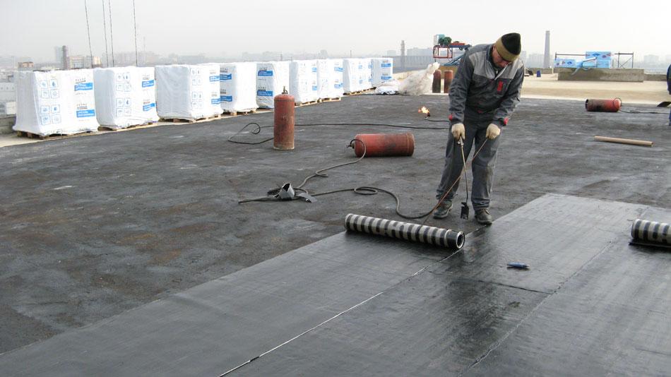 Крыша из наплавляемых материалов2