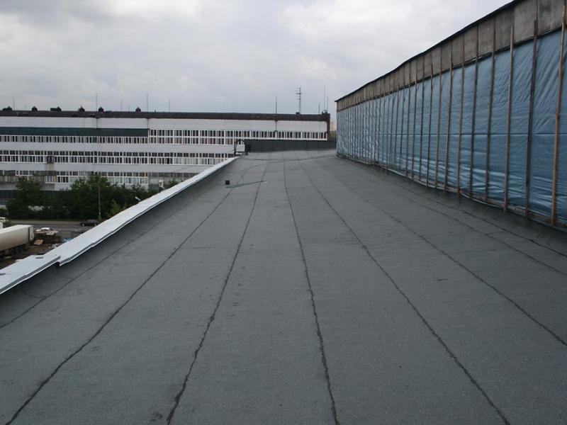 Крыша из наплавляемых материалов4