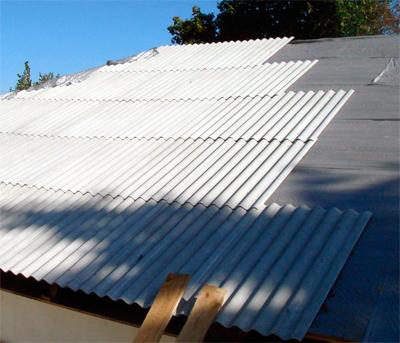 Крыша из шифера. укладка шифера3