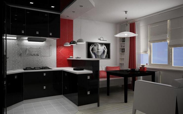 Кухни черного цвета1