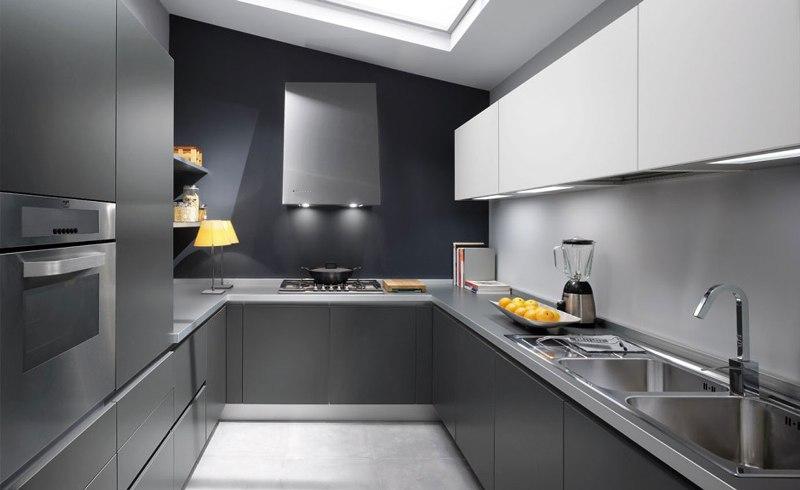 Кухни в стальном стиле4