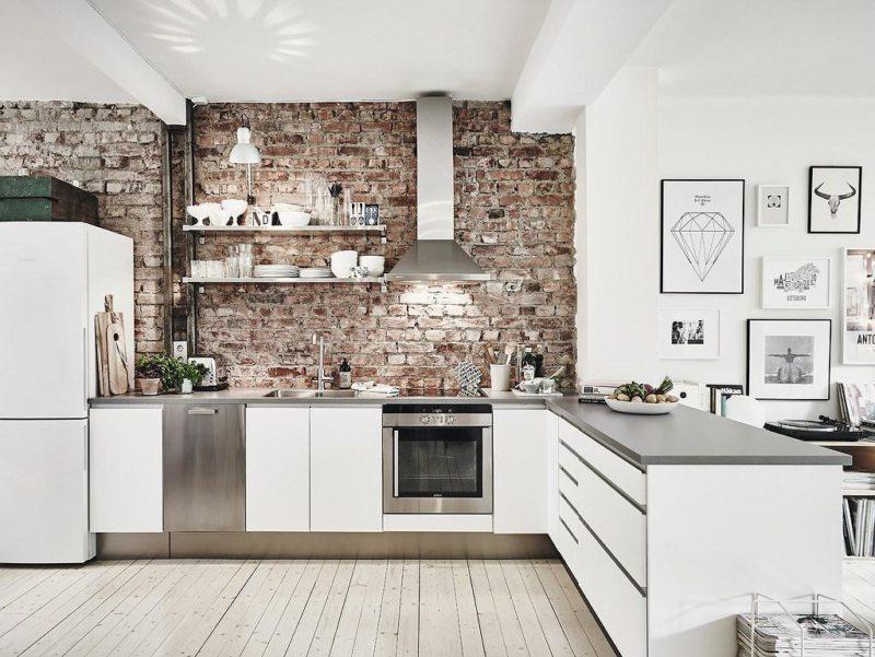 Кухни в стальном стиле6