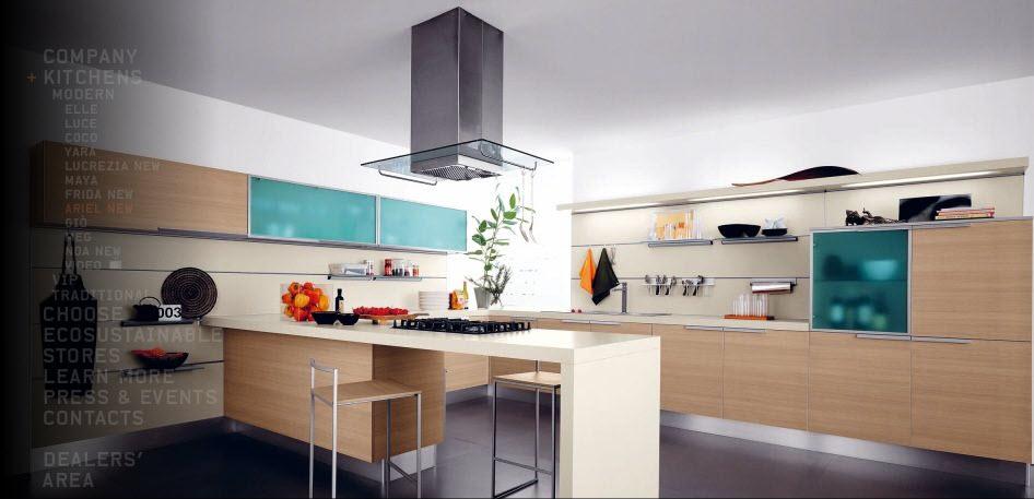 Кухни в стиле модерн от итальянцев cesar0