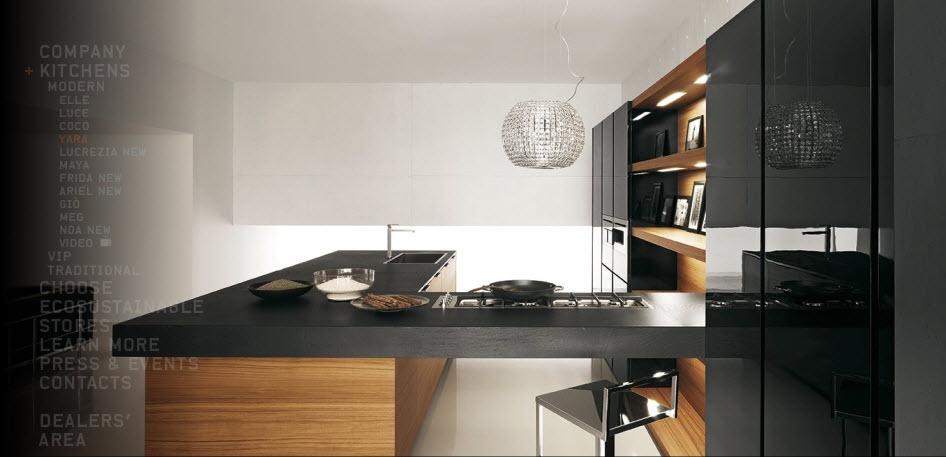 Кухни в стиле модерн от итальянцев cesar1
