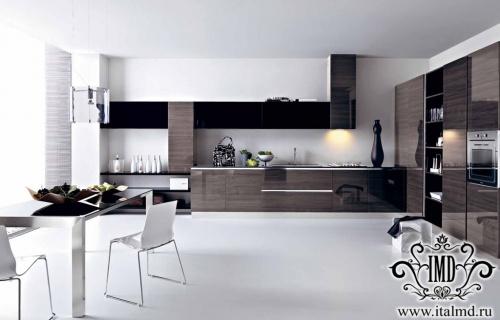 Кухни в стиле модерн от итальянцев cesar2