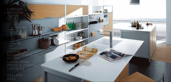 Кухни в стиле модерн от итальянцев cesar3