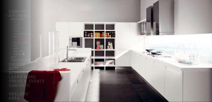 Кухни в стиле модерн от итальянцев cesar7