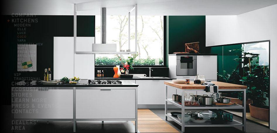 Кухни в стиле модерн от итальянцев cesar8
