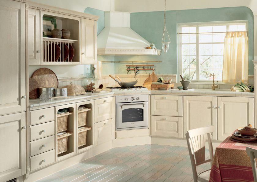 Кухни в светлых тонах2