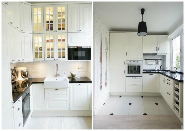 Кухни в светлых тонах3