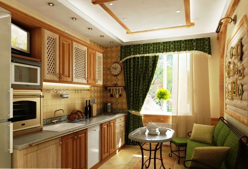 Кухня со спальным местом4