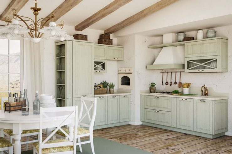 Кухонные дополнения в греческом стиле6