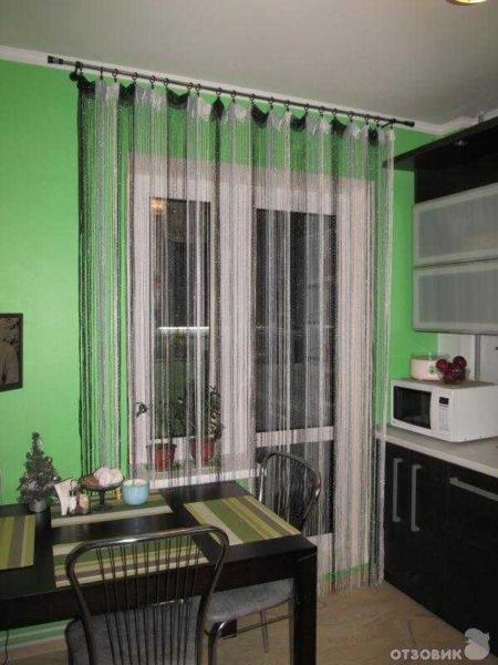 Кухонные шторы: от классики до современности (50 фото идей)1