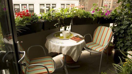 Летний мини-сад — цветущие балконы и террасы1