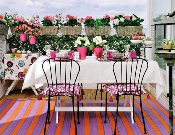 Летний мини-сад — цветущие балконы и террасы7