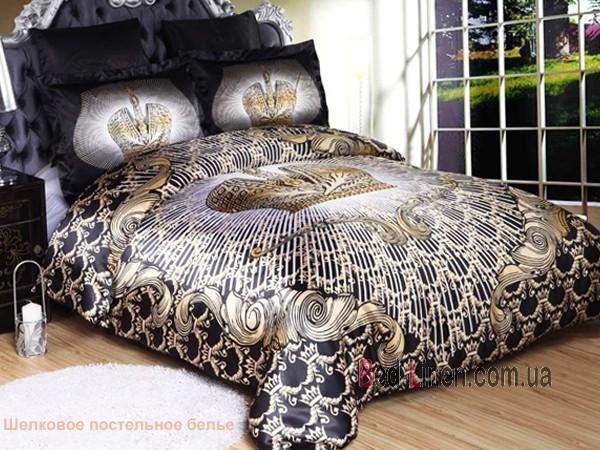 Лучшее постельное белье из шелка0