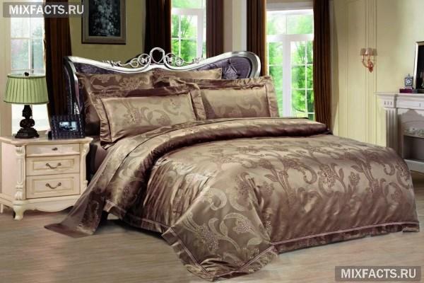 Лучшее постельное белье из шелка1