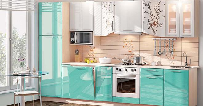 Лучшее сочетание цветов на кухне2