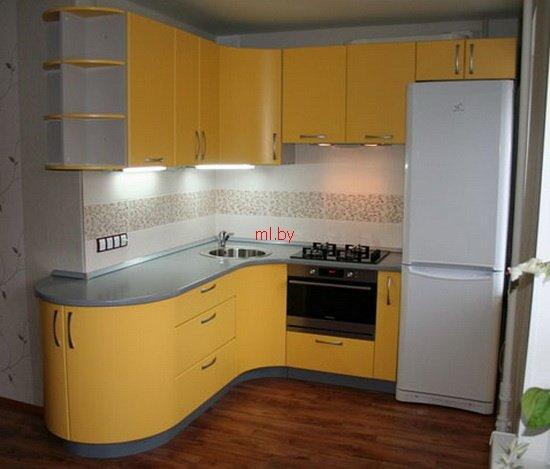 Маленькие угловые кухни4