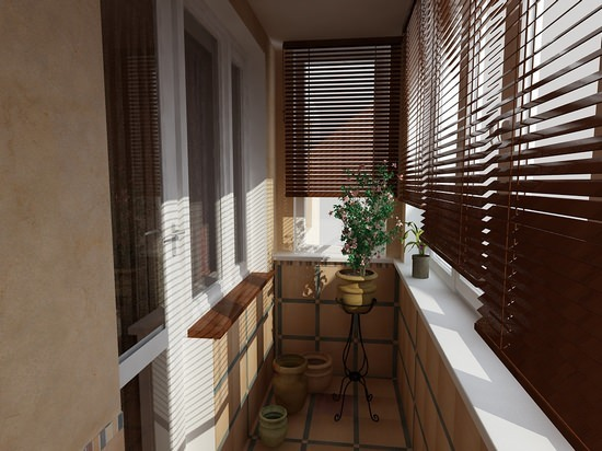 Маленький балкон: дизайн и фото1