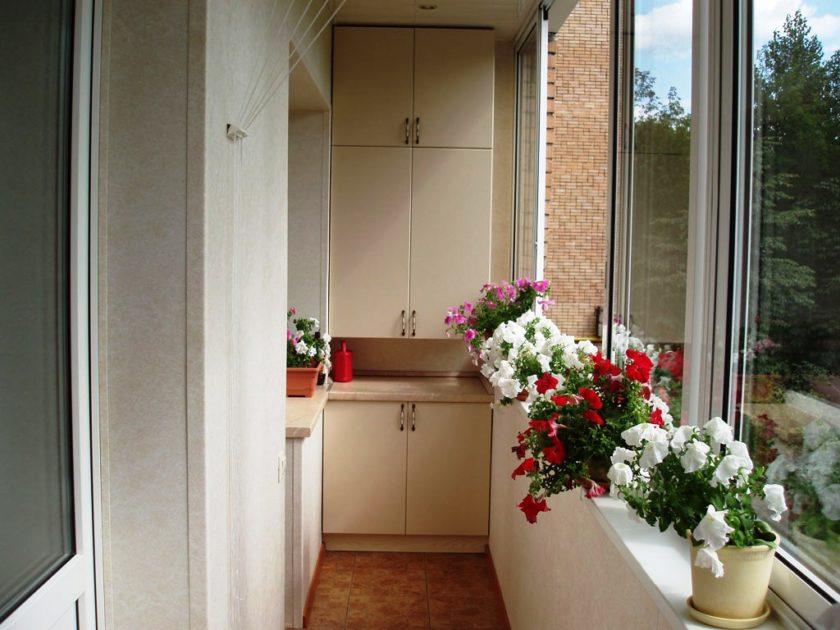 Маленький балкон: дизайн и фото4
