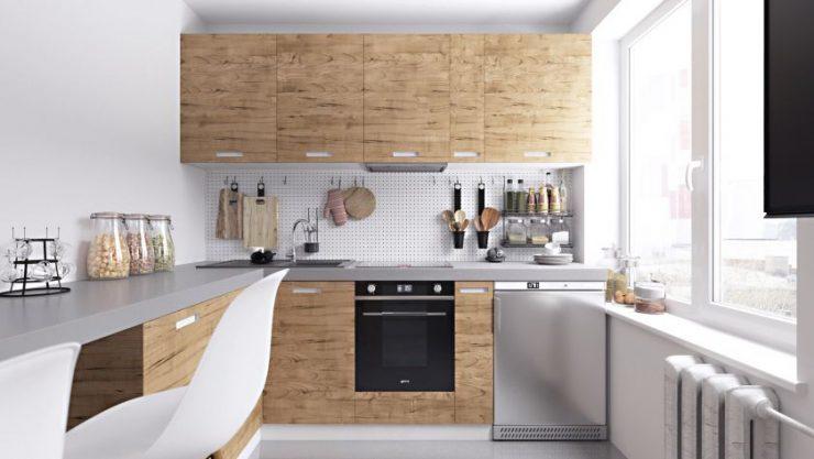 Малогабаритные кухни 4-5 кв. м.0