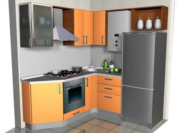 Малогабаритные кухни 4-5 кв. м.4