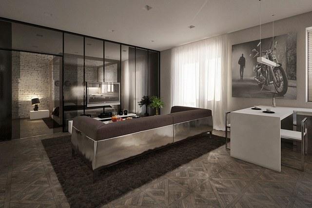 Металл в интерьере домов и квартир1