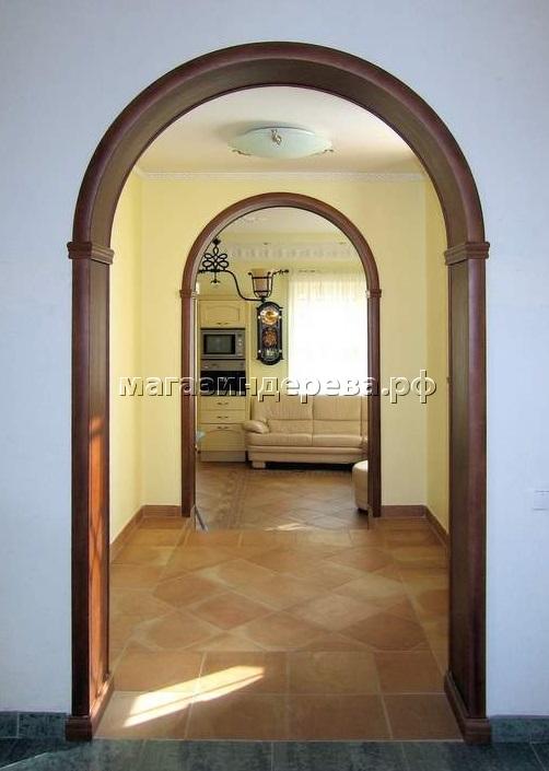 Межкомнатная арка: тип, форма, материал изготовления2