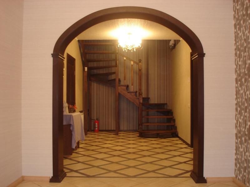 Межкомнатная арка: тип, форма, материал изготовления3