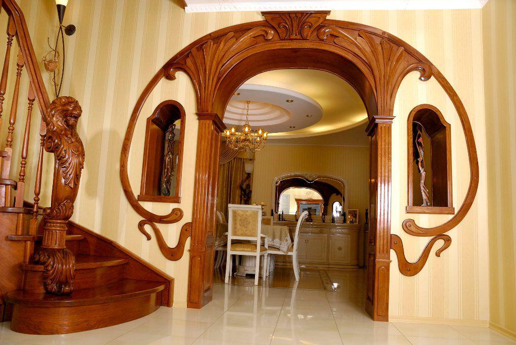 Межкомнатная арка: тип, форма, материал изготовления6