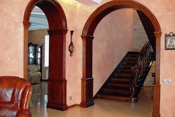 Межкомнатная арка: тип, форма, материал изготовления0